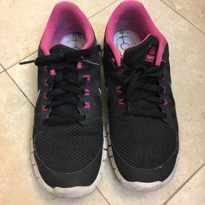 Nike Free 5.0 black and pink